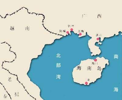 北部湾港至香港