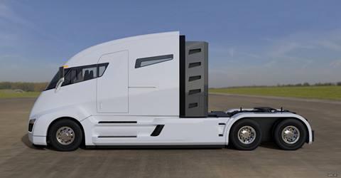 电子高速公路  特斯拉电动卡车