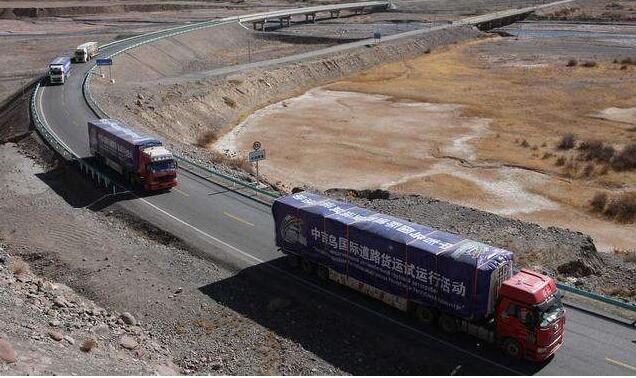 一带一路  中吉乌国际道路货运